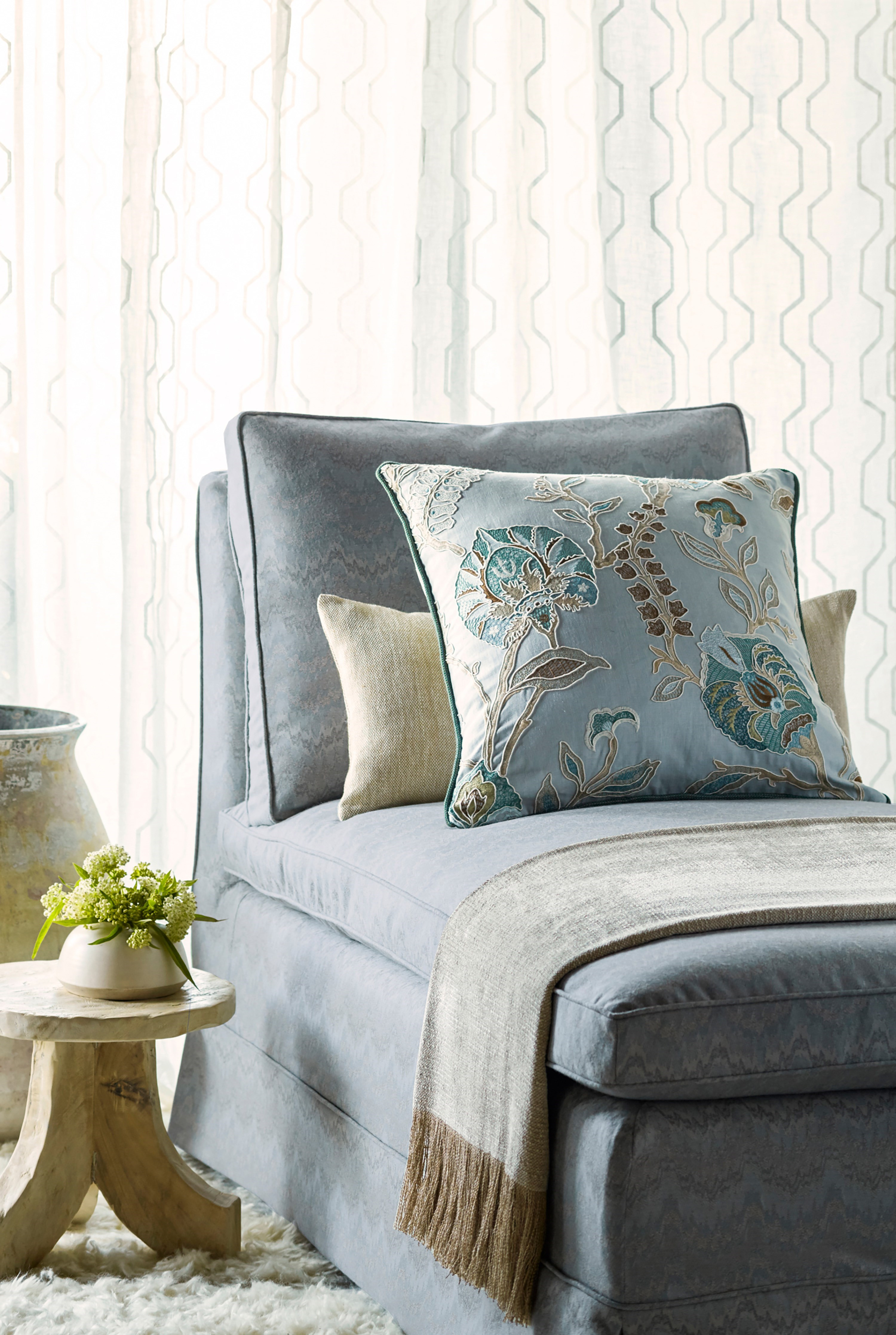 COWTAN TOUT DECORATIVE LUXURY TEXTILES FEATURED AT GLEN LUSBY INTERIORS Glen Lusby Interiors